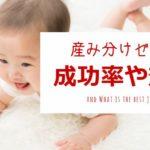女の子の産み分けゼリーの成功率や効果